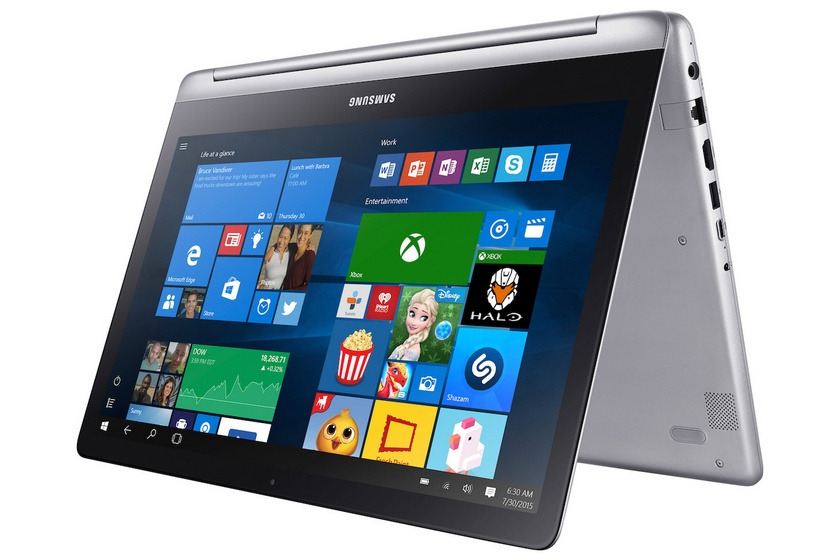 Самсунг Notebook 7 Spin: ноутбук-перевертыш встиле Lenovo Yoga