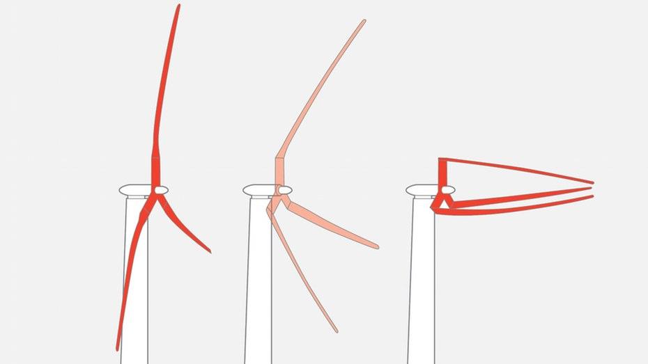 Огромные складывающиеся ветрогенераторы будут производить до 50 МВт электроэнергии