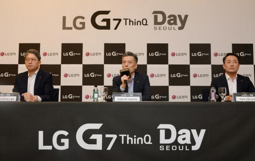 LG: мы планировали дизайн LG G7 ThinQ с вырезом ещё до Apple