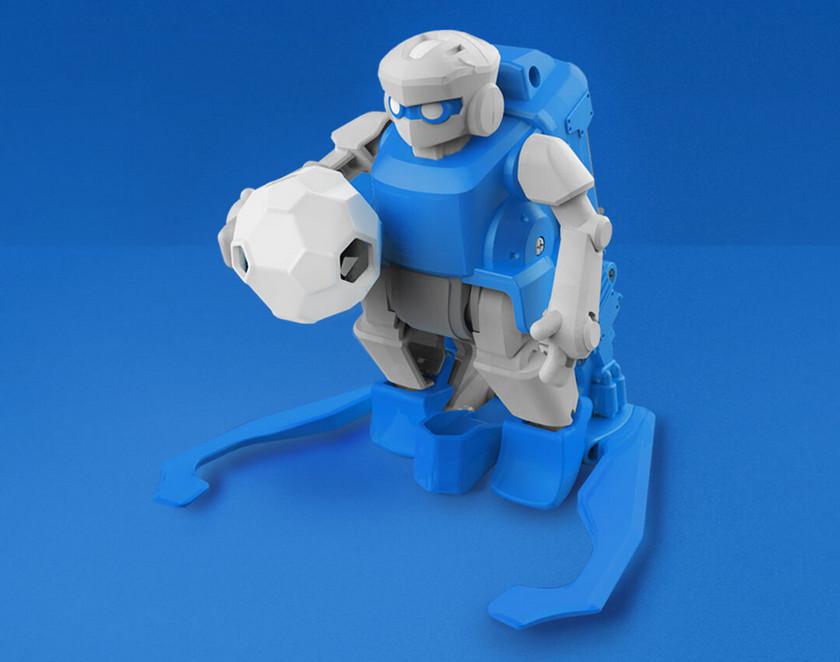 Роботы-футболисты SIMI Football Robot на краудфандинге Xiaomi