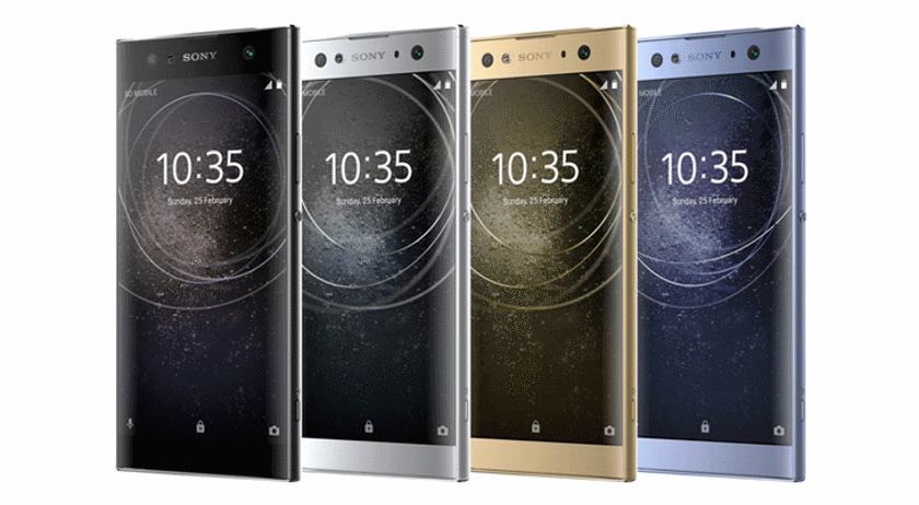 The first renderings of Sony Xperia L2, XA2 and XA2 Ultra appeared on the web