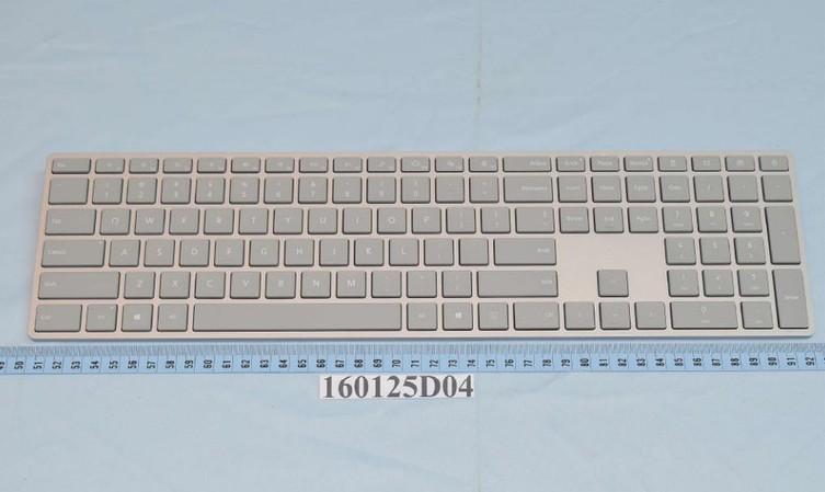 Клавиатура имышь Microsoft Surface прошли сертификацию FCC