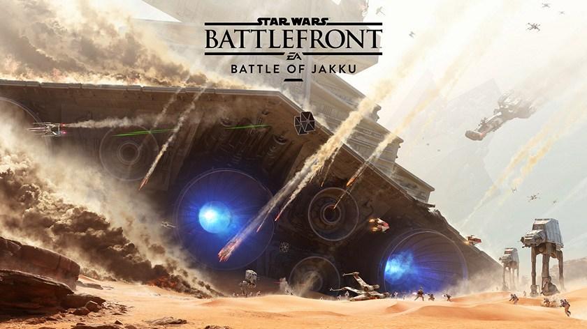 Battle of Jakku добавит в Star Wars Battlefront новый режим «20 на 20»