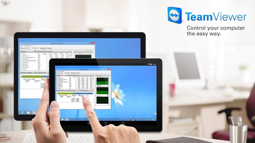 TeamViewer 12 позволяет управлять смартфоном со смартфона
