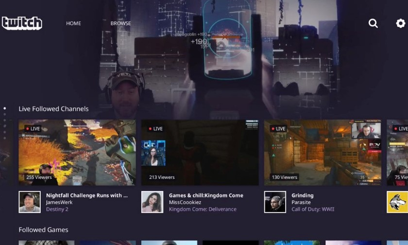 Приложение Twitch для PS4 получило обновленный дизайн и возможности PC-версии