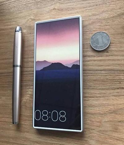 Компания Oono показала 1-ый вмире безрамочный смартфон-слайдер