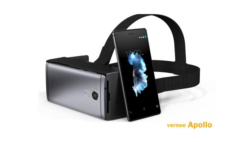 1-ый смартфон счипом MediaTek что работает свиртуальной реальностью— Vernee Apollo