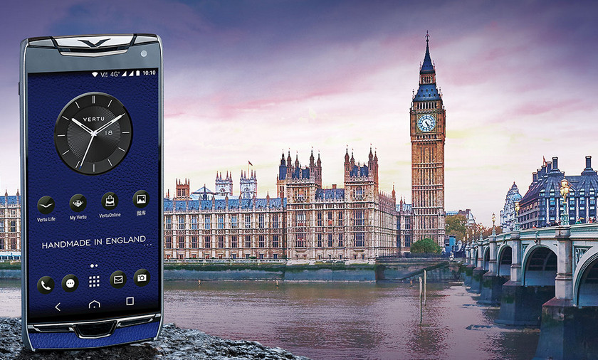 突然间:一款豪华智能手机Vertu Constellation X在中国发布