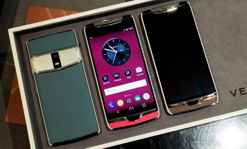 Производителя «люксовых» телефонов Vertu продали за $60 млн.