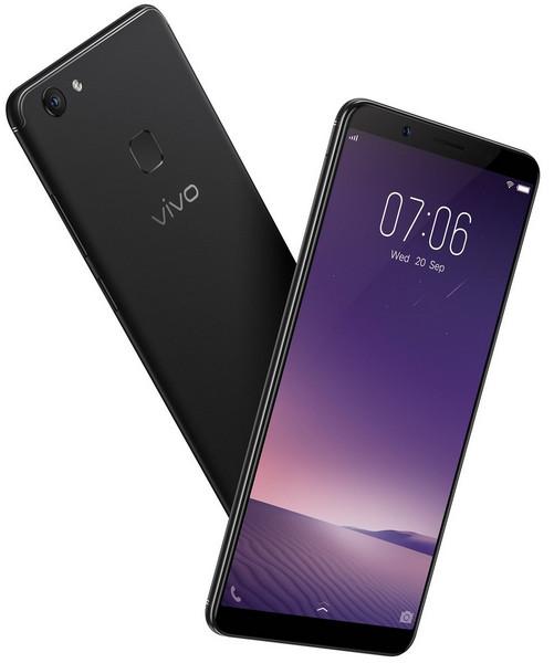 Смартфон Vivo V7+ получил селфи-камеру на24 Мп