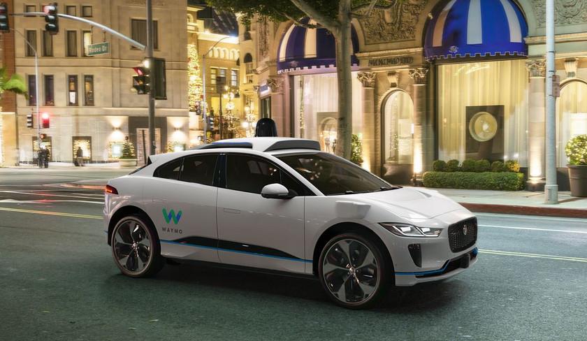 Waymo и Ягуар  объединились для разработки флота роскошных  автономных электрокаров