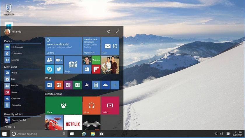 Продажа Windows 10 на USB-накопителях и обновление сборки 10130