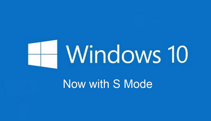 Microsoft will abandon Windows 10 S in favor of S Mode