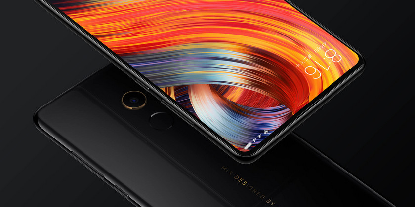 Premium Xiaomi Mi Mix 2 with 8 GB of RAM came out in China