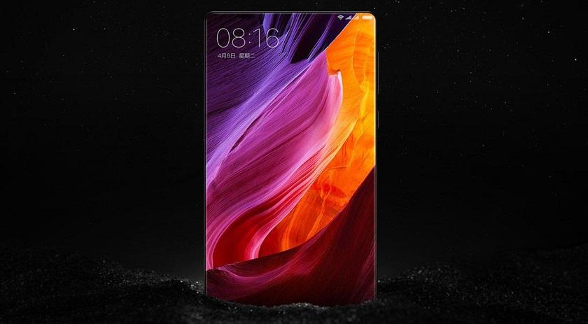 В Xiaomi Mi Mix используется безрамончый дисплей Sharp