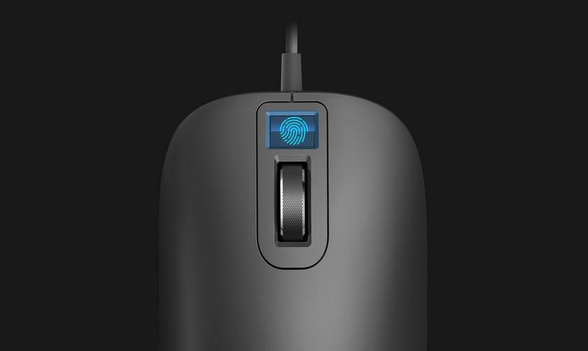 Мышь Xiaomi сосканером отпечатков пальцев получила ценник в $30