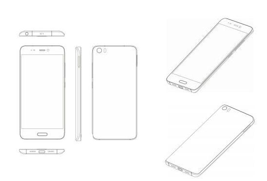 Утечка о дизайне и характеристиках смартфона Xiaomi Mi 5