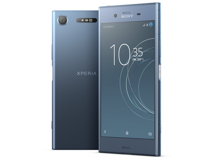 Объявлены украинские цены Sony Xperia XZ1 и XZ1 Compact