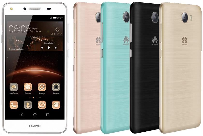 Huawei Y5 IIокажется заметно лучше предшественника (характеристики)