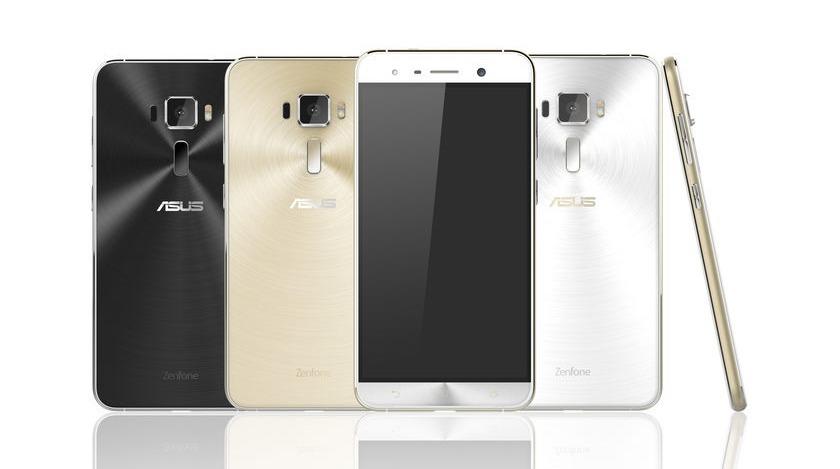 Asus раскрыла внешность Zenfone 3 и Zenfone 3 Deluxe