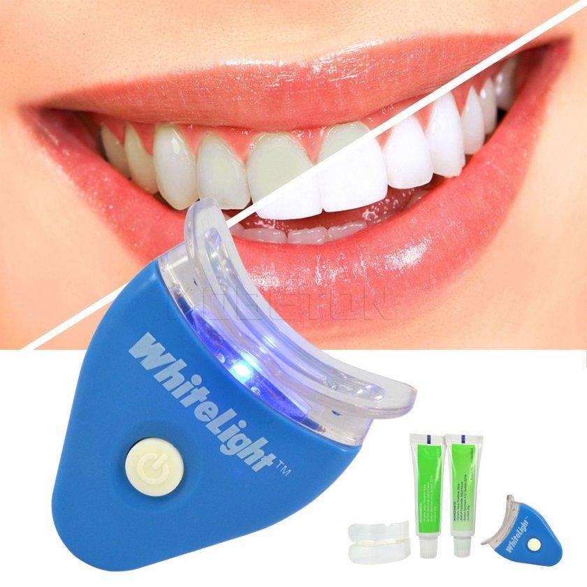 Отбеливание зубов лед лампой отзывы