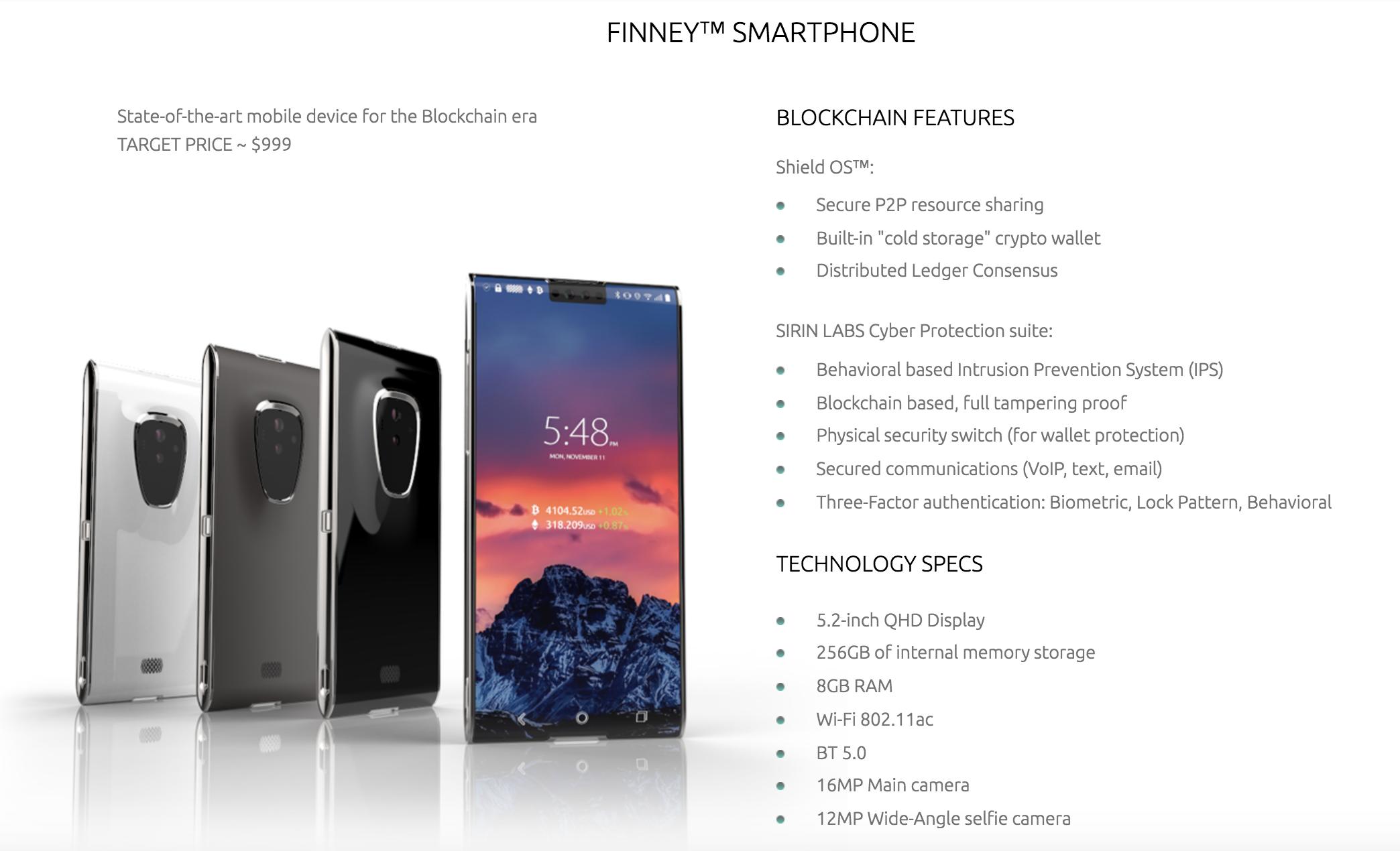 Представлен 1-ый вмире смартфон для майнеров