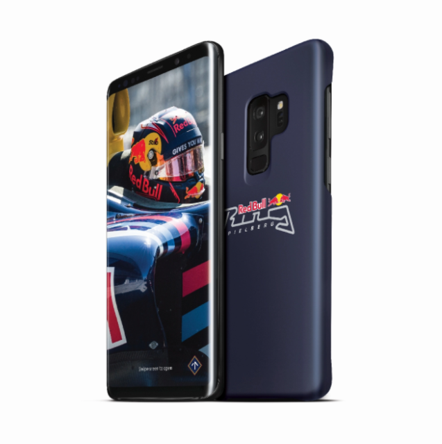 Смартфон Самсунг Galaxy S9 Red Bull Ring edition поступил нарынок