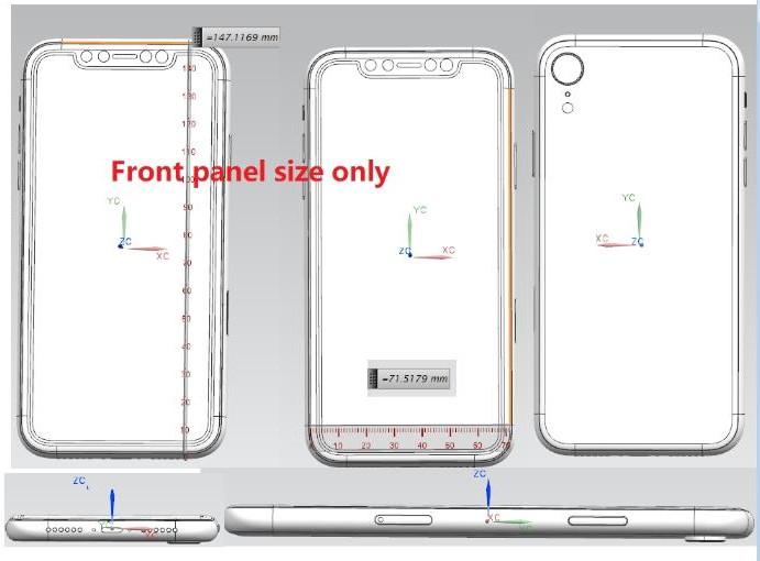 В сети появились схематические изображения нового iPhone X Plus