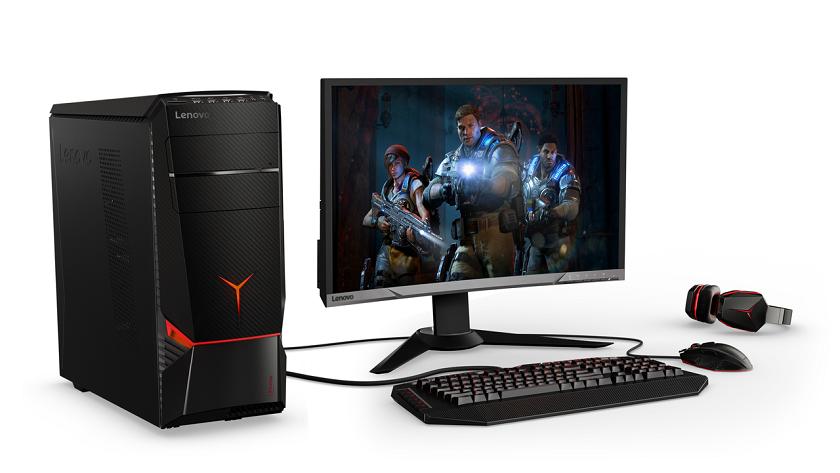 Lenovo представила три игровых десктопа Legion споддержкой виртуальной реальности