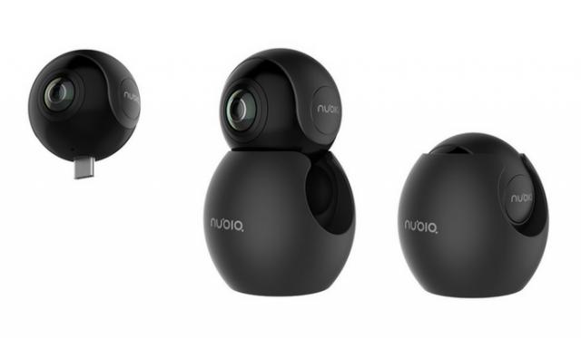 ZTE представила панорамную камеру Nubia NeoAirVR споддержкой Android-смартфонов