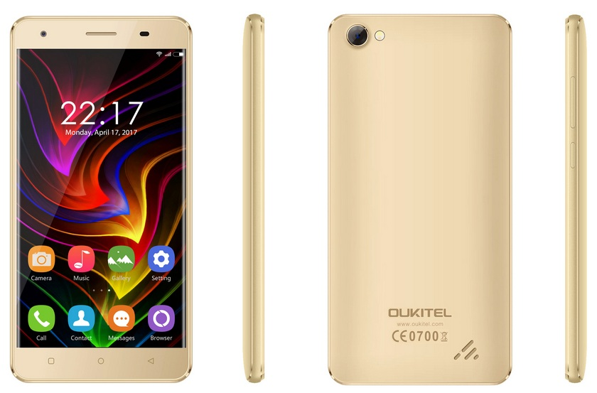 Oukitel C5: общедоступный смартфон за $49,99