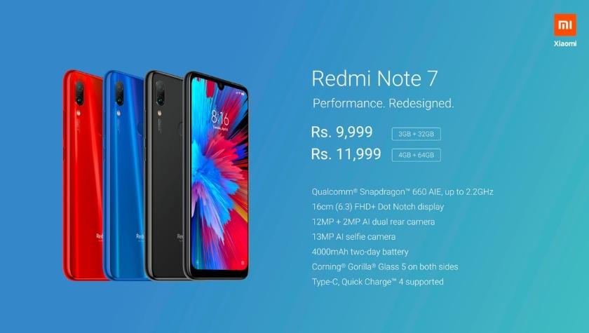 Xiaomi показала новый общедоступный смартфон Redmi Note 7 Pro