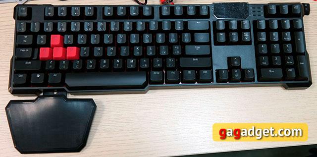 Обзор геймерской клавиатуры A4Tech Bloody B540 с механическими переключателями Greentech