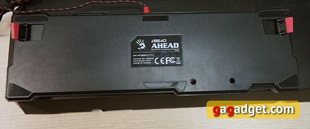 Обзор геймерской клавиатуры A4Tech Bloody B540 с механическими переключателями Greentech-11