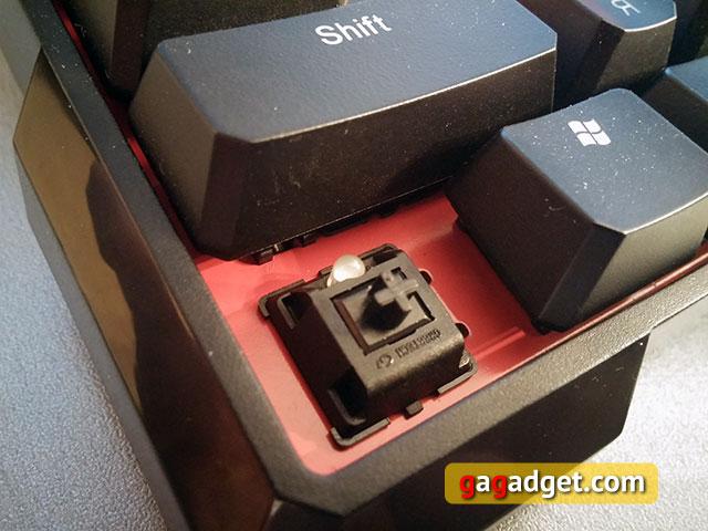 Обзор геймерской клавиатуры A4Tech Bloody B540 с механическими переключателями Greentech-14