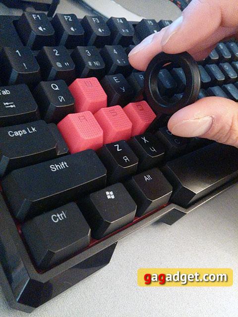 Обзор геймерской клавиатуры A4Tech Bloody B540 с механическими переключателями Greentech-15