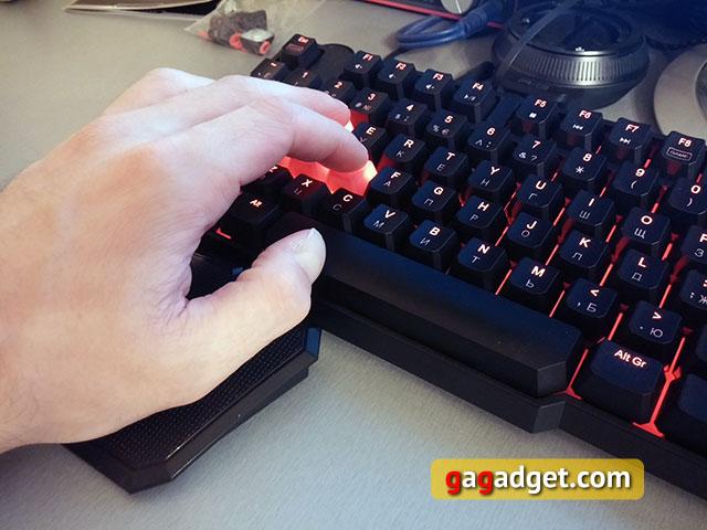 Обзор геймерской клавиатуры A4Tech Bloody B540 с механическими переключателями Greentech-18