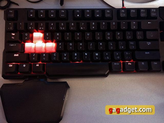 Обзор геймерской клавиатуры A4Tech Bloody B540 с механическими переключателями Greentech-20