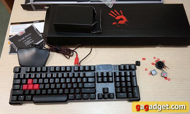 Обзор геймерской клавиатуры A4Tech Bloody B540 с механическими переключателями Greentech-4