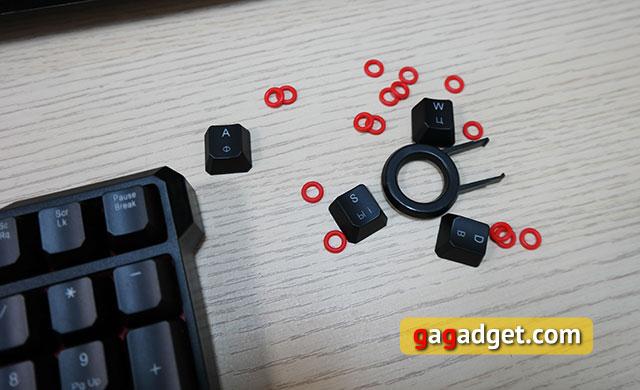 Обзор геймерской клавиатуры A4Tech Bloody B540 с механическими переключателями Greentech-5