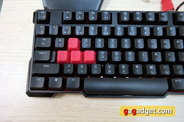 Обзор геймерской клавиатуры A4Tech Bloody B540 с механическими переключателями Greentech-7
