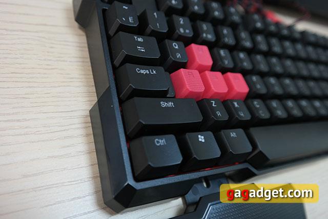 Обзор геймерской клавиатуры A4Tech Bloody B540 с механическими переключателями Greentech-8