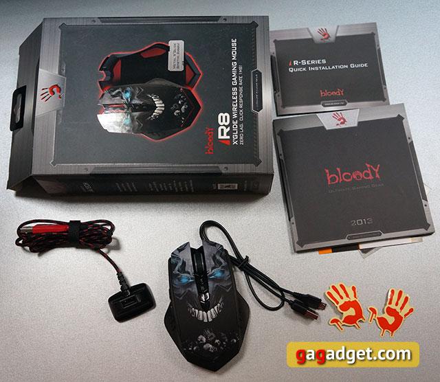 Обзор беспроводной геймерской мышки A4Tech Bloody R8-4
