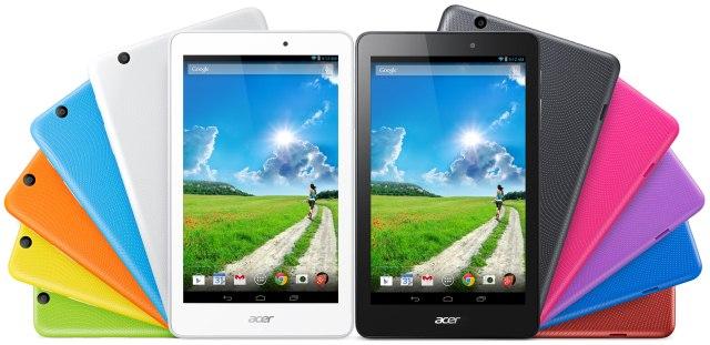 Acer привезла на IFA 2014 три планшета Iconia Tab 8 W, Iconia Tab 10 и Iconia One 8-4