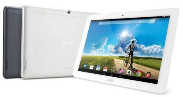 Acer привезла на IFA 2014 три планшета Iconia Tab 8 W, Iconia Tab 10 и Iconia One 8-3