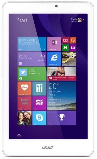 Acer привезла на IFA 2014 три планшета Iconia Tab 8 W, Iconia Tab 10 и Iconia One 8-2