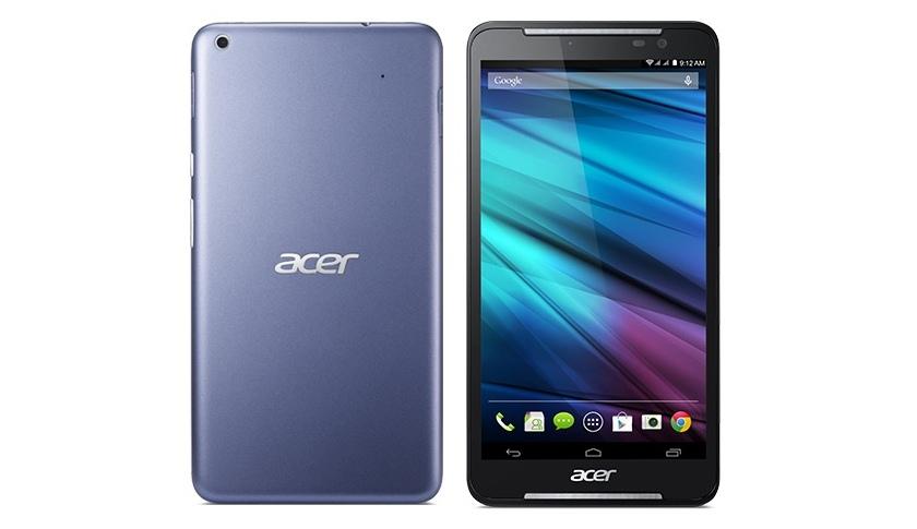 Acer выпустила планшет Iconia Talk S с 64-битным процессором и телефонными функциями