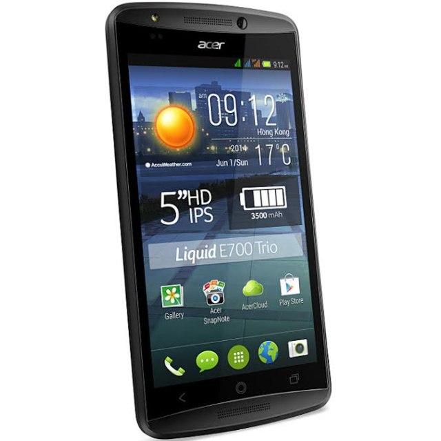Когда двух SIM-карт оказывается мало: трехсимный Android-смартфон Acer Liquid 700