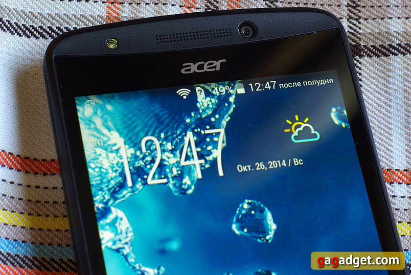 Обзор смартфона Acer Liquid E700: Android с тремя SIM-картами-4
