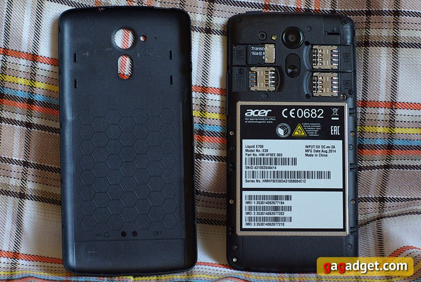 Обзор смартфона Acer Liquid E700: Android с тремя SIM-картами-9